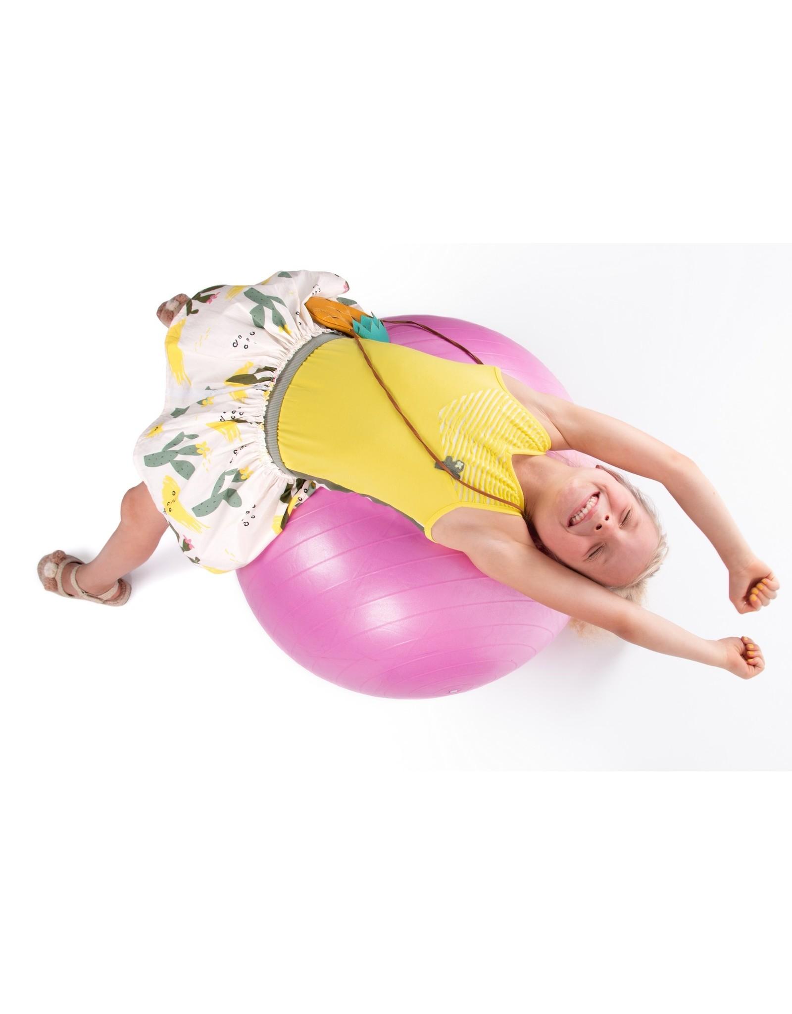 NONO NONO Nana reversible Skirt Lemon / Cactus All over