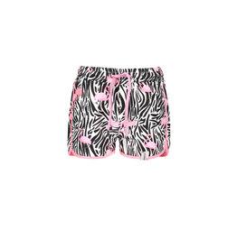 B.Nosy B-Nosy Girls Woven Beach Short- Flamingo-Zebra All Over Print
