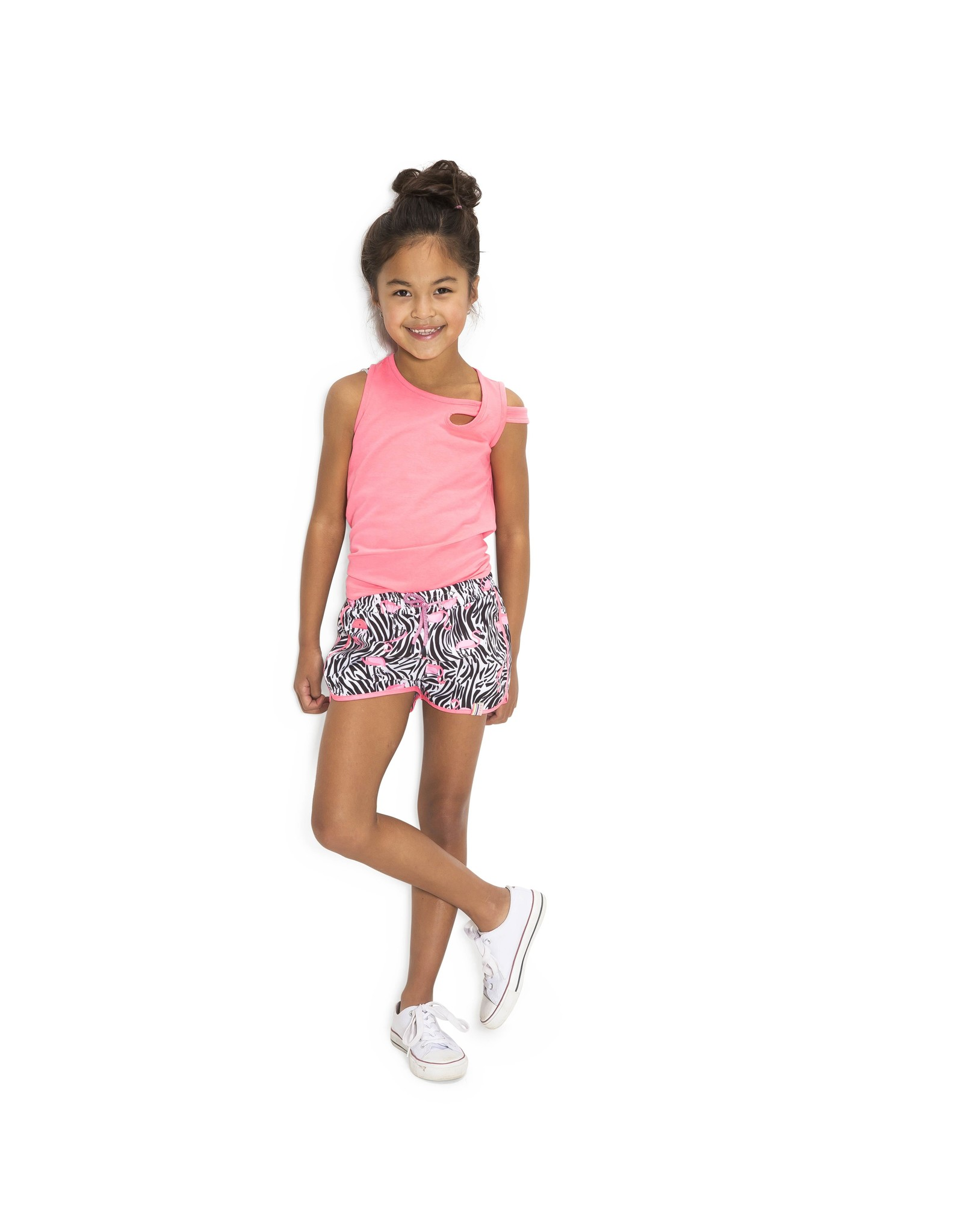 B.Nosy B.Nosy Girls Singlet With Extra Strap On Arm-Candy