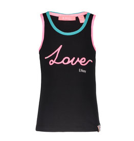 B.Nosy B-Nosy Girls Love Rope Singlet-Black