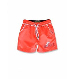 Lemon Beret Lemon Beret Small Boys Swimwear Fiery Coral