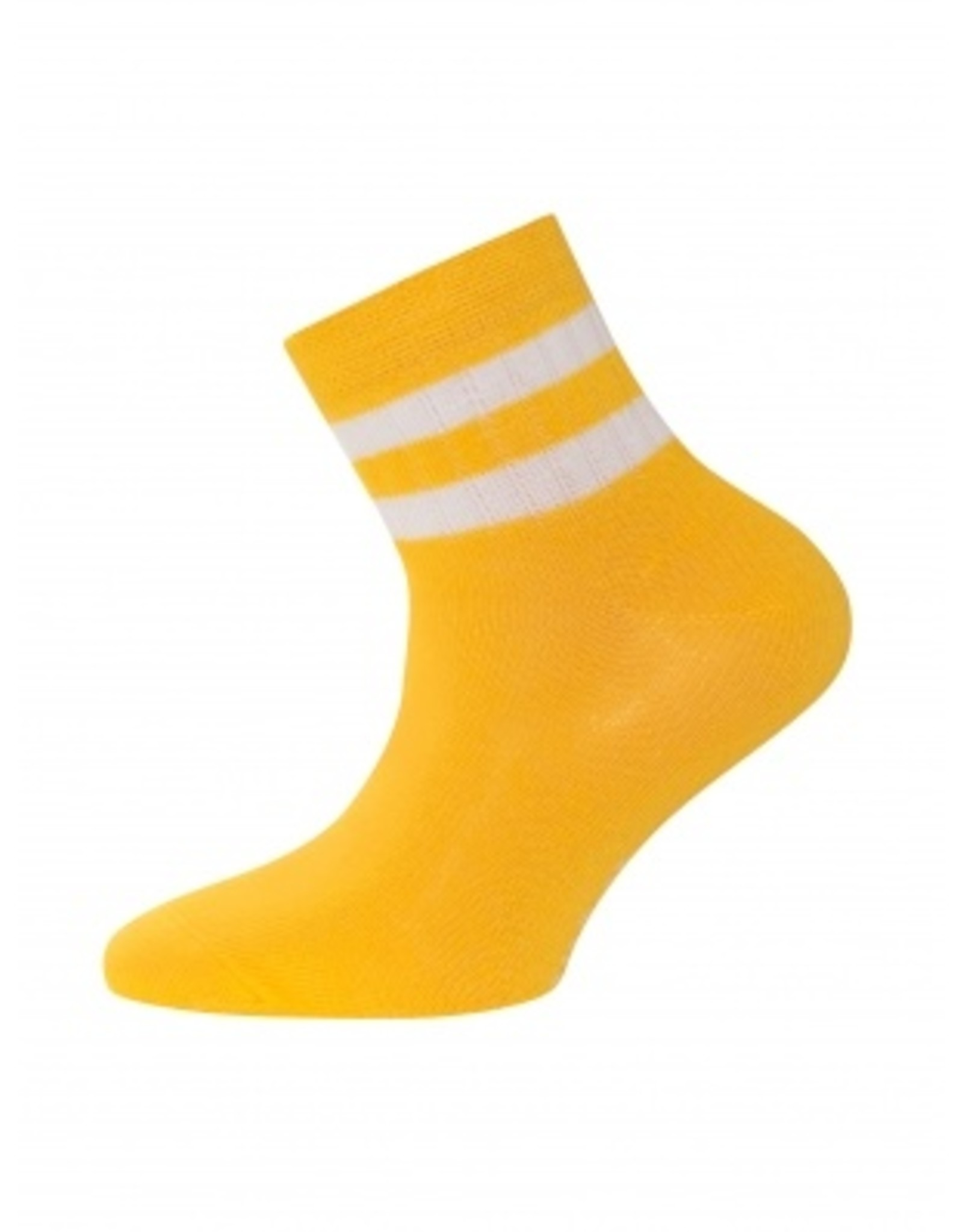 Ewers Ewers Sportieve Sokken gestreept Geel