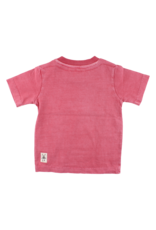 Small Rags Small Rags short sleeve T-shirt Oekotex Garnet Rose