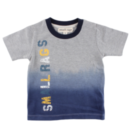 Small Rags Small Rags Short Sleeve T-shirt Neutral Grey