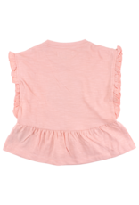 Small Rags Small Rags Top Coral Cloud