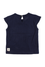 Small Rags Small Rags Short Sleeve T-shirt Navy Iris