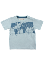 Small Rags Small Rags Short Sleeve T-shirt Gray Mist