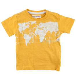 Small Rags Small Rags Short Sleeve T-shirt Mineral Yellow (OUTLET)