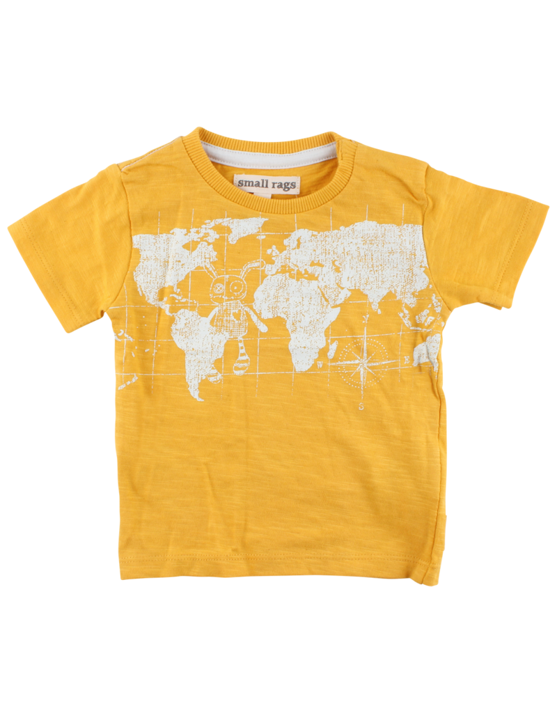 Small Rags Small Rags Short Sleeve T-shirt Mineral Yellow