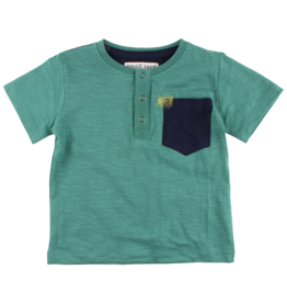 Small Rags Small Rags Short Sleeve T-shirt Frosty Spruce (OUTLET)