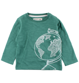 Small Rags Small Rags Long Sleeve T-shirt Frosty Spruce