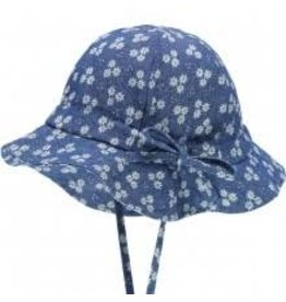 Döll Döll Hat with string Blue Denim