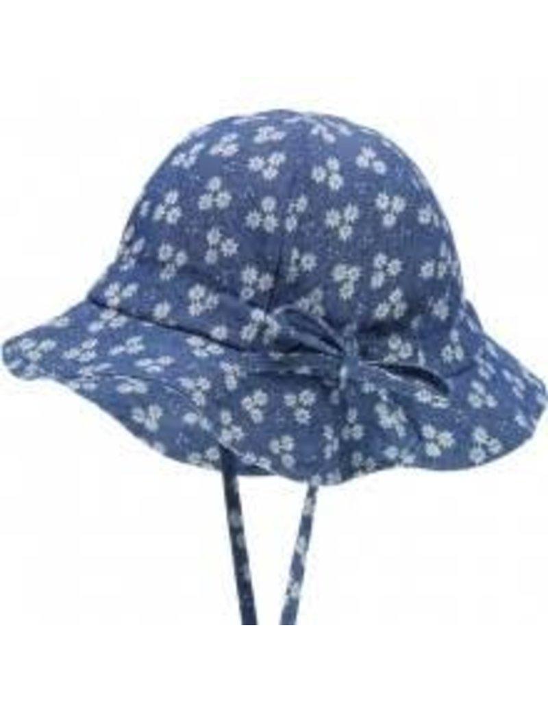 Döll Döll Hat with string Blue Denim