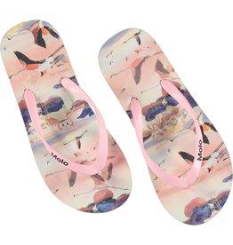 Molo Molo Flip-Flops Zeppo Flamingo