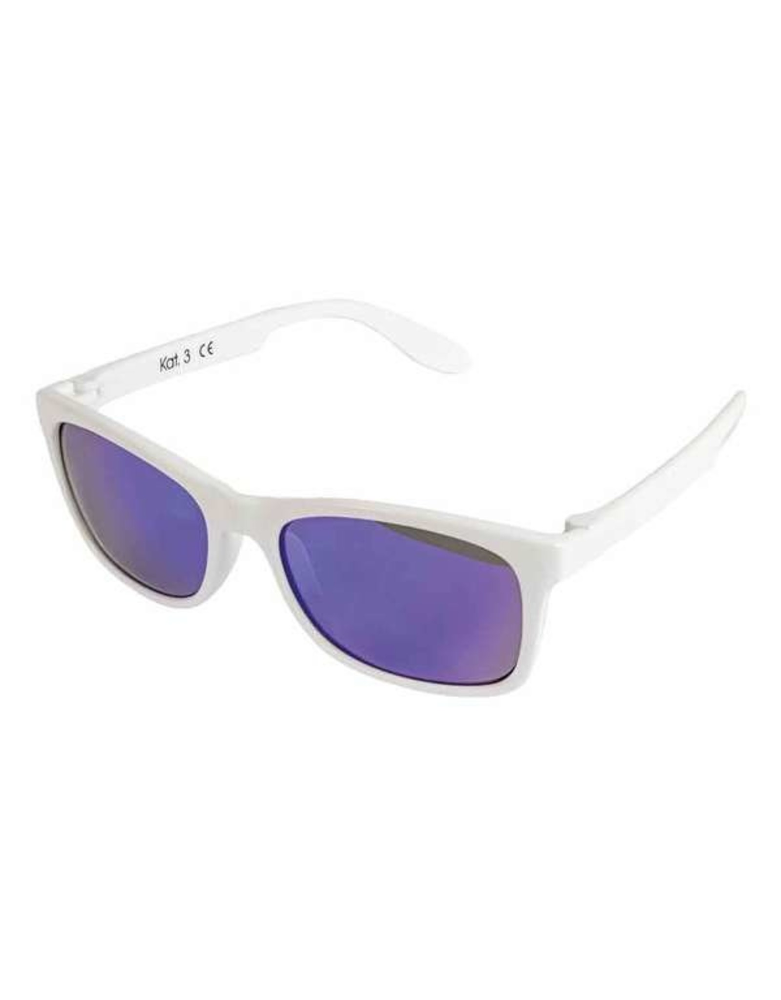 BB style&care Zonnebril Spiegelglas wit