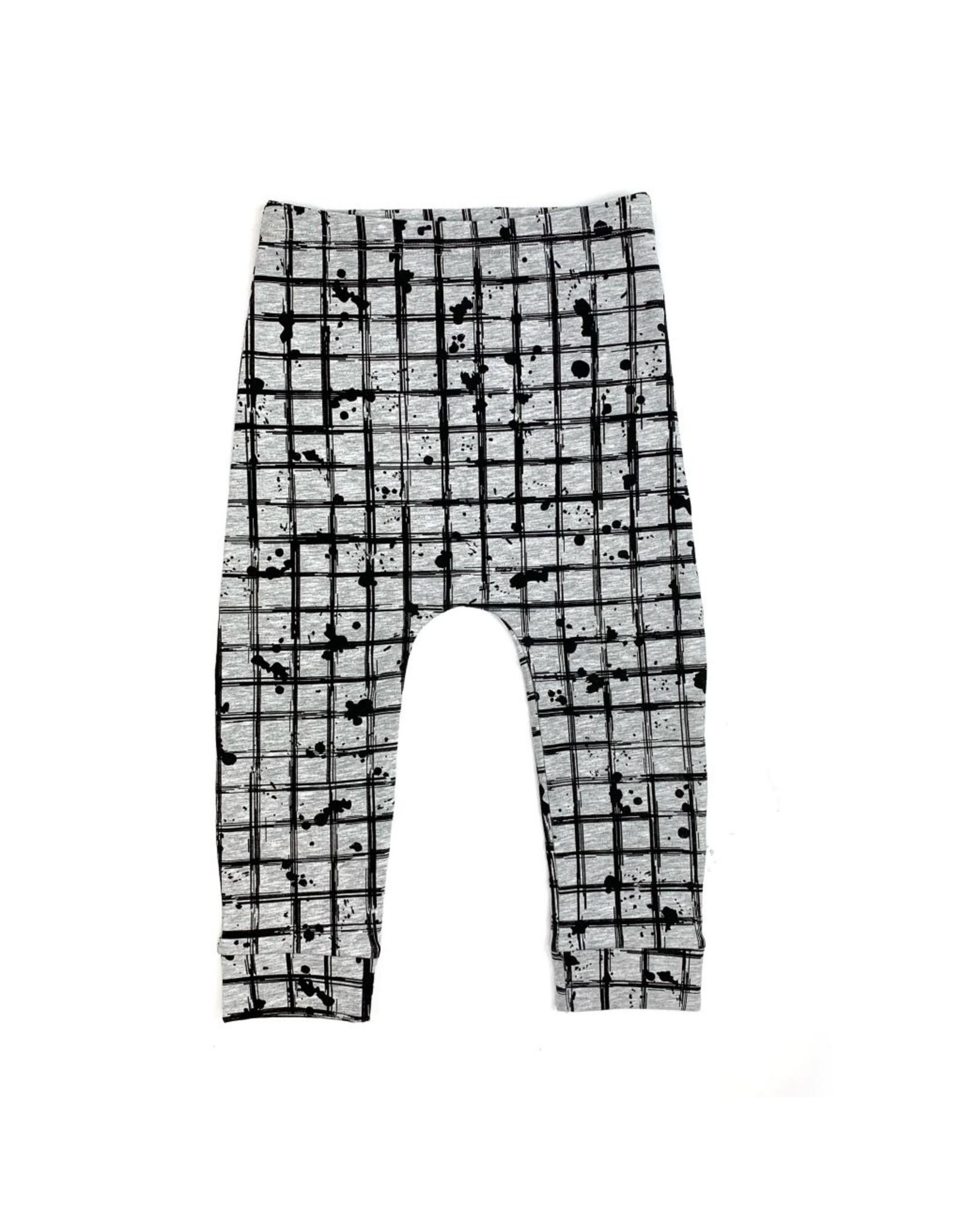 KMDB KMDB Kids Pants Pedro grid grey