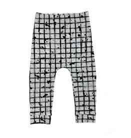 KMDB KMDB Pants Pedro grid grey Kids