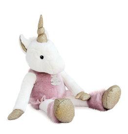 Doudou et compagnie Doudou Unicorn glitter - 60cm