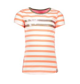 B.Nosy B.Nosy Girls Stripe Shirt With Rows- Multi-Stripe