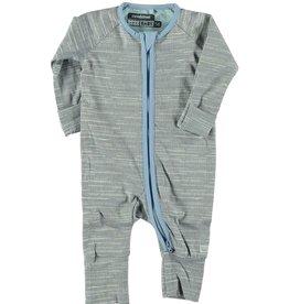 Moodsteet Baby Moodstreet Baby Suit zipper long sleeve Pale Jeans