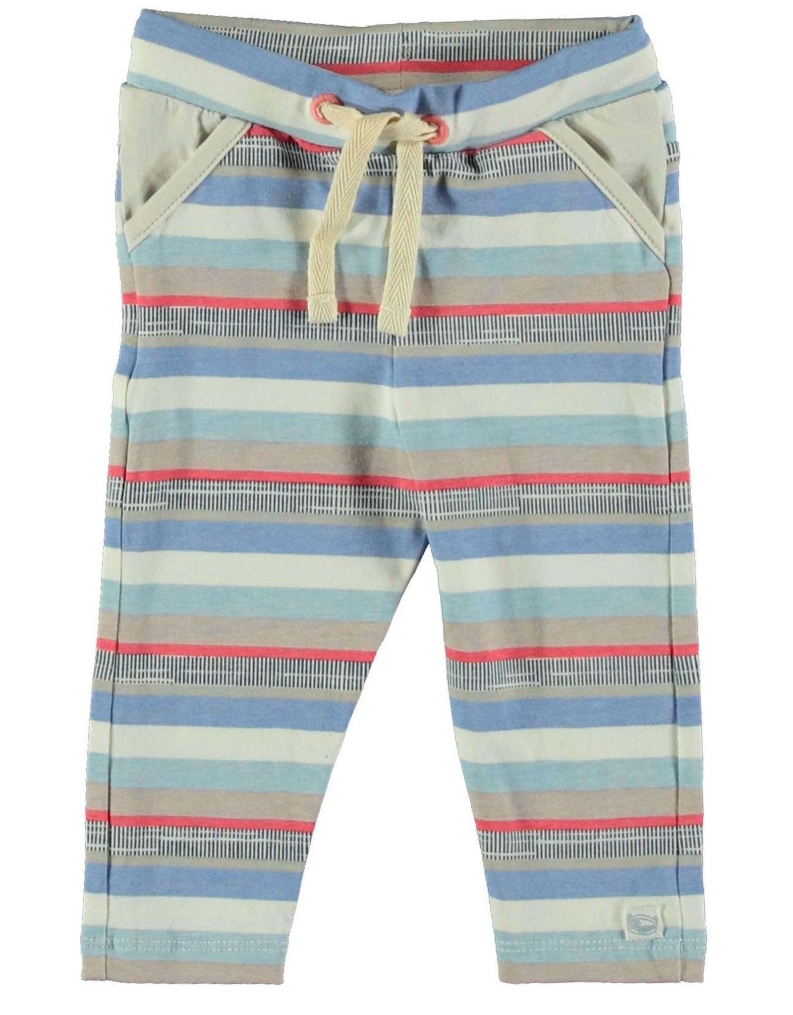 Moodsteet Baby Moodstreet Baby Pants with pockets Multi Stripe