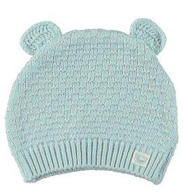 Moodsteet Baby Moodstreet Baby Knitted Hat with ears Light blue