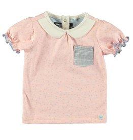 Moodsteet Baby Moodstreet Baby T-shirt Collar Girls Blossom