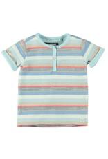 Moodsteet Baby Moodstreet Baby Short sleeve buttons closure Multi Stripe