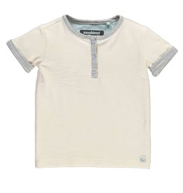 Moodsteet Baby Moodstreet Baby Short sleeve buttons closure Off White