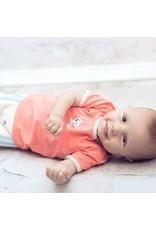 Moodsteet Baby Moodstreet Baby T-shirt Animal chest print Boys Pale Red