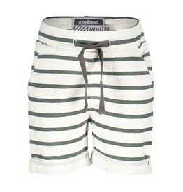 Moodstreet Mini Moodstreet Mini Sweat  Shorts Stripe- White
