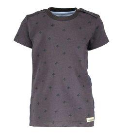 Moodstreet Mini Moodstreet-Mini T-Shirt Star/Contrast Tape-Nearly Black