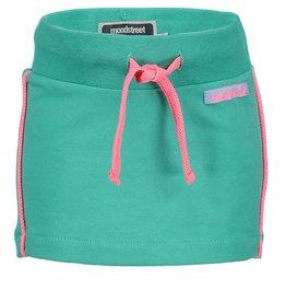 Moodstreet Mini Moodstreet Mini Skirt Solid- Fresh Green