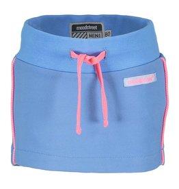 Moodstreet Mini Moodstreet Mini Skirt Solid - Light Blue