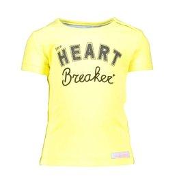 Moodstreet Mini Moodstreet Mini T-Shirt Heart Breaker- Yellow