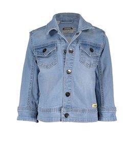Moodstreet Mini Moodstreet Mini Denim Jacket- Bleached Denim