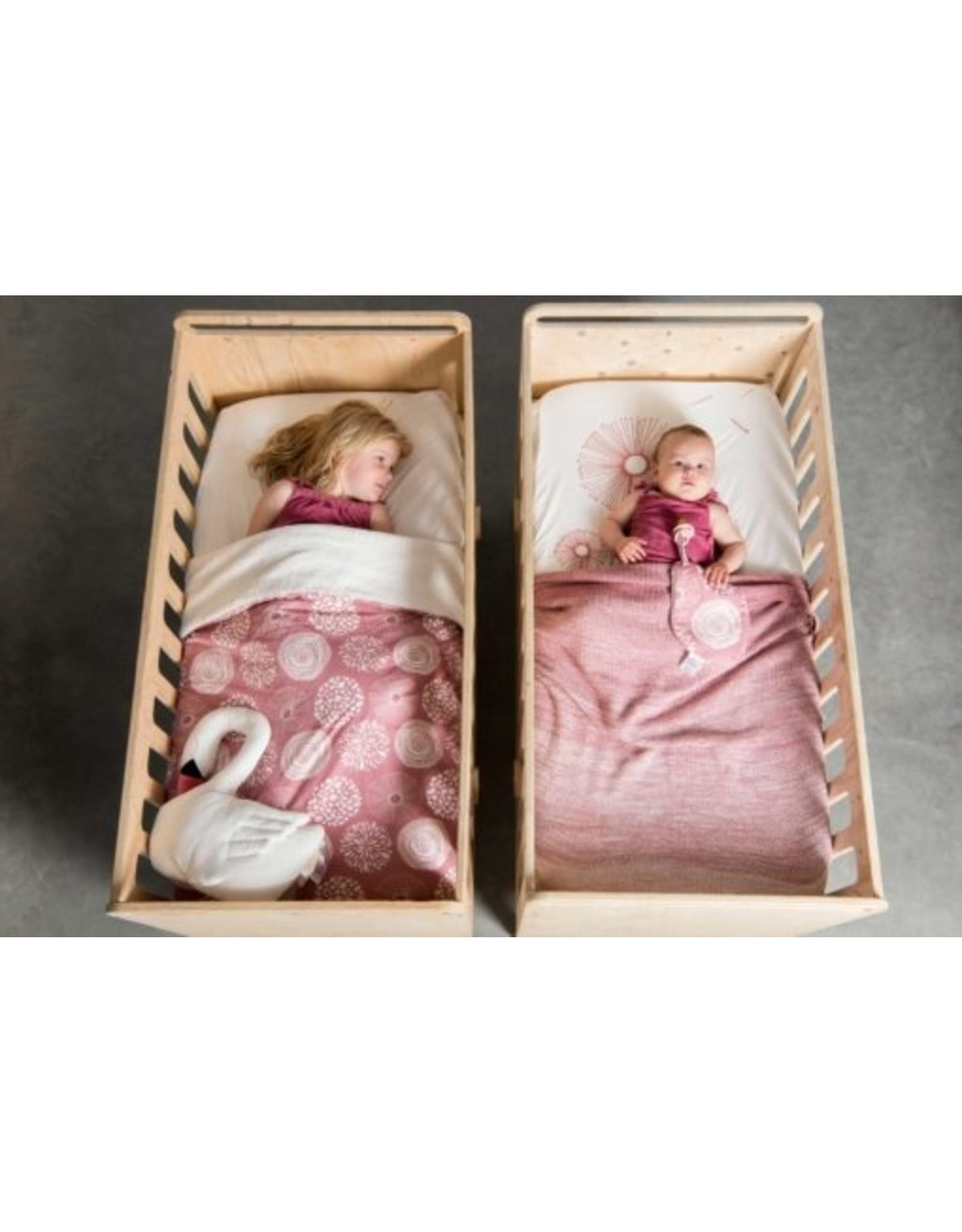 Witlof for Kids Witlof for Kids Tuck-Inn Ledikantdeken Sparkle Rose