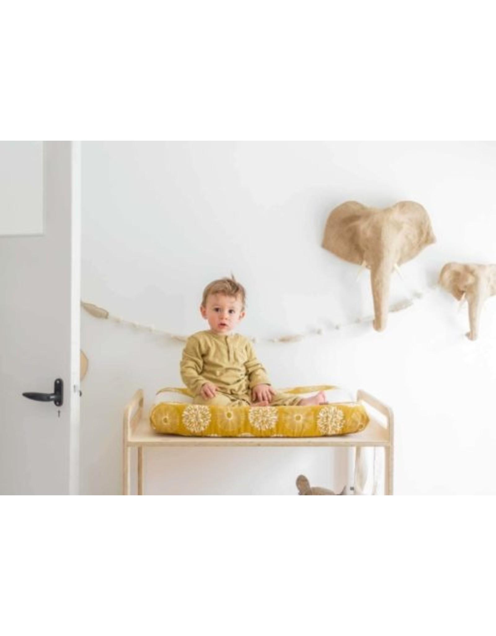 Witlof for Kids Witlof for Kids Aankleedkussenhoes Sparkle Sweet Honey