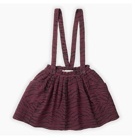 Sproet & Sprout Sproet & Sprout Woven Skirt All over print Burgundy