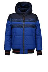 Bellaire Bellaire Base Hooded Jacket- Navy Blazer