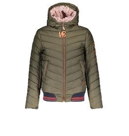 NoBell NoBell Balia Hooded Jacket/Slanted Step Army Green