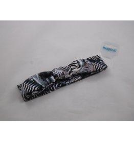 Heppiedi Heppiedi- Knoophaarband Zebra