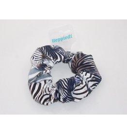 Heppiedi Heppiedi Scrunchie Zebra