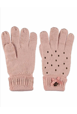 Le Chic Le Chic Knitted Gloves- Victorian Pink