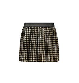Like Flo Like Flo Girls PDP Plisse Skirt- Pied De Poule