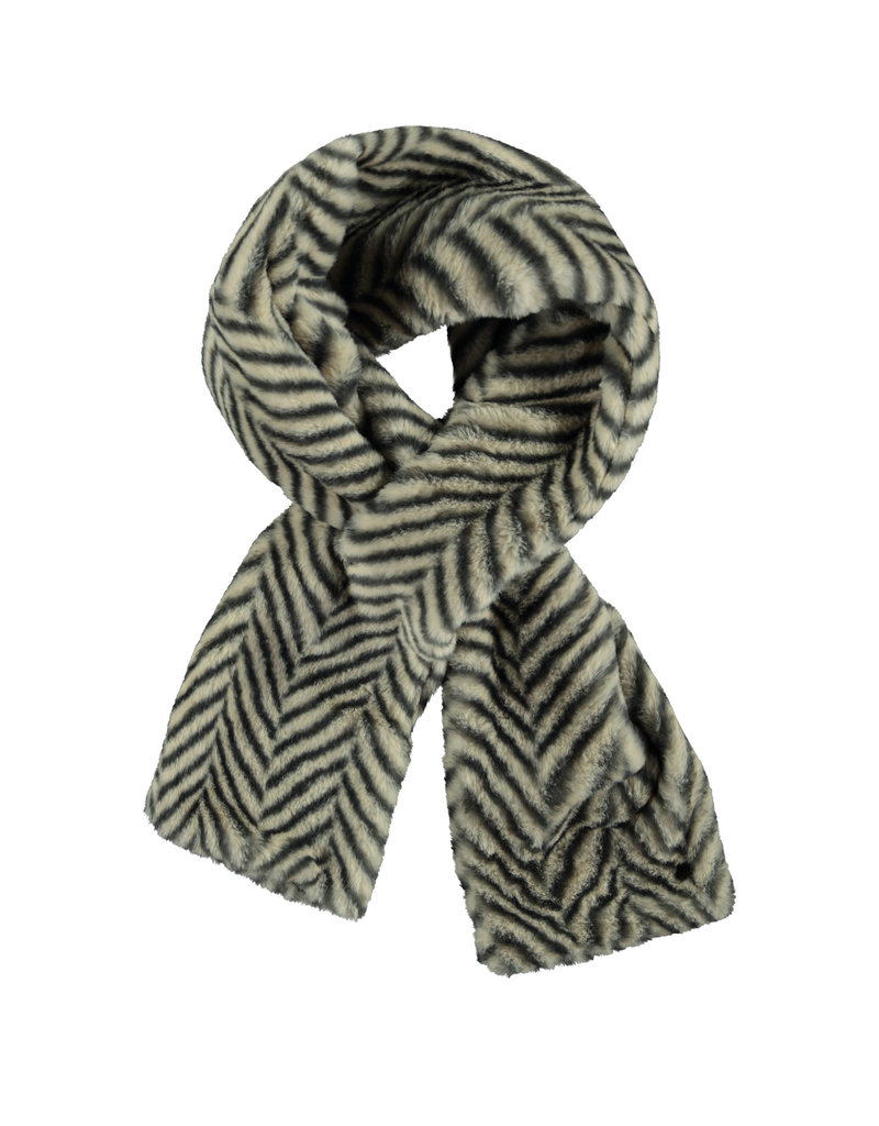 Like Flo Like Flo Girls Fur Scarf- ZigZag