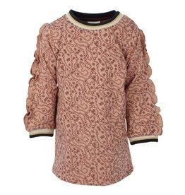 Enfant En Fant Dress Mahogany Rose