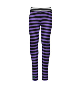 B.Nosy B.Nosy Girls Stripe Legging -Grape Purple