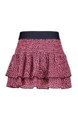 B.Nosy B.Nosy Girls 2Layer Woven Skirt-Pink Panther