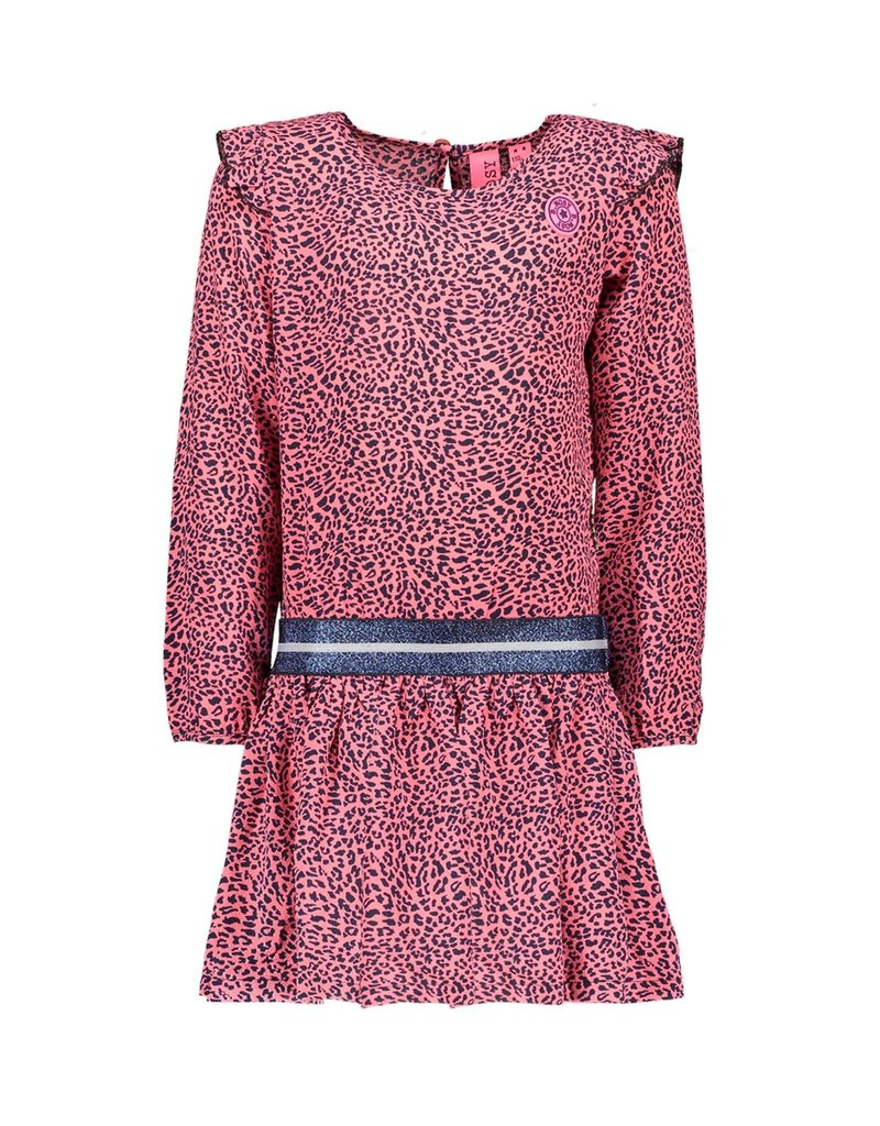 B.Nosy B.Nosy Girls With Ruffle At Sleeve-Pink Panther